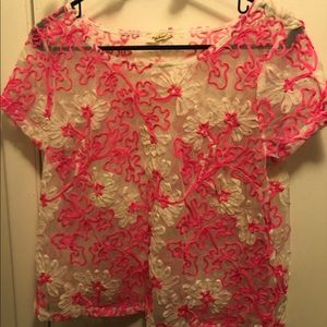 Anthropologie Lace Shirt